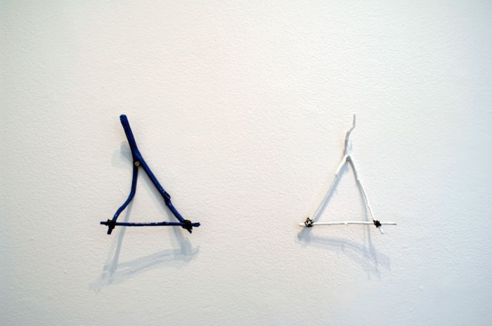 Repetitive forms (to and from Blinky Palermo), 2006/2007